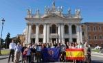 RESEÑA DE LA PEREGRINACION DE LA HERMANDAD DE LAS PENAS A ROMA